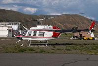 C-GWCF @ CYKA - Cariboo Chilcotin Bell 206 - by Yakfreak - VAP
