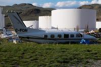 C-FCAV @ CYKA - Piper 42 - by Yakfreak - VAP