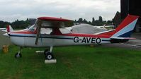 G-AVEO @ EGCB - Cessna F150G - by Terry Fletcher