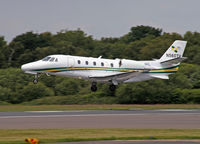 N560TH @ BOH - Close to landing - by barry quince