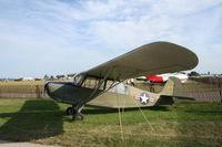 N90425 @ KOSH - Aeronca L-16 - by Mark Pasqualino