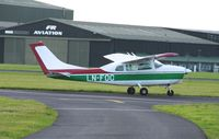 LN-FOC @ BOH - CESSNA 210H CENTURION VISITOR TO BOH - by Patrick Clements