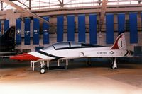 63-8441 @ TIP - F-5B at the Octave Chanute Aviation Center.  Painted like a Thunderbird T-38 - by Glenn E. Chatfield