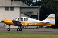 G-AXEV @ EGBP - Beagle Pup landing at Kemble - by Henk van Capelle