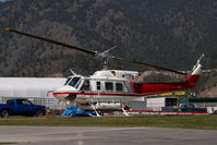 C-FAHP @ CAB7 - Alpine Helicopters Bell212 - by Yakfreak - VAP