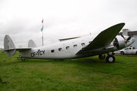 CF-TCY @ CAK3 - Lockheed Loadstar