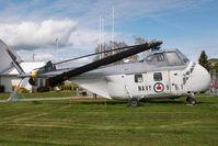 961 @ CYYJ - Canadian Navy Sikorsky S-55