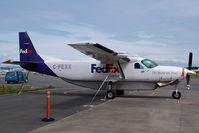 C-FEXX @ CYYJ - Fedex Cessna 208