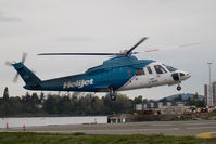 C-GHJW @ CBF7 - Helijet Sikorsky S76A