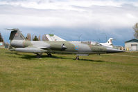 104731 @ CYQQ - Canadian Air Force Lockheed F104 Starfighter
