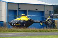 G-CCAU @ EGBO - Police Helicopter