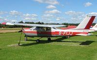 G-FIJJ @ EGBD - Cessna F177RG