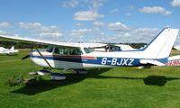 G-BJXZ @ EGBD - Cessna 172N