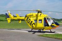 D-HBKK @ EDTF - Eurocopter / MBB BK-117 B-2 - by J. Thoma