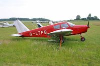 G-LTFB @ EGHP - Previous ID: G-AVLU - G-LTFB was an acronym for LONDON TRANSPORT FLYING CLUB LTD - by Clive Glaister