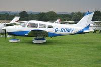 G-BOMY @ EGKH - Flightline at Lashenden/Headcorn - by Jeff Sexton