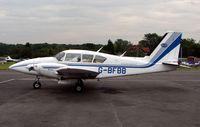 G-BFBB @ EGTR - Piper-Pa-23-250