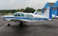 G-PURR @ EGTR - Grumman AA-5A