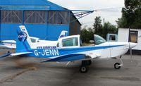 G-JENN @ EGTR - Grumman AA-5B