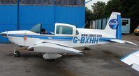 G-BXHH @ EGTR - Grumman AA-5A