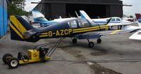 G-AZCP @ EGTR - Beagle B121