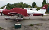 N411BC @ EGTR - Piper Pa-28-181