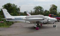 N340GJ @ EGTR - Cessna 340A