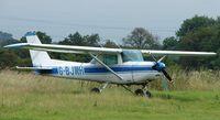 G-BJWH @ EGTR - Cessna F152