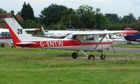G-ENTW @ EGTR - Cessna F152