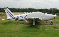 G-BFLI @ EGTR - Pa-28R-201T