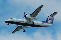 G-WOWE @ EGCC - Air South West - Landing - by David Burrell