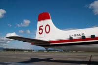 C-GKUG @ CYXX - Conair DC6 - by Yakfreak - VAP