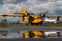 C-GFSK @ CYXX - Conair CL215 - reflection