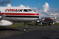 C-FKFL @ CYXX - Conair Convair 580