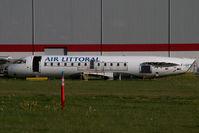 F-GPTM @ CYXX - Air Littoral Regionaljet