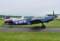 D-EBFW @ EDTF - Messerschmitt BF-108 Taifun - by J. Thoma