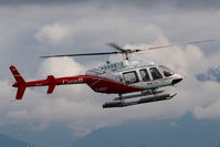 C-GDOT @ CYVR - Transport Canada Bell 407 - by Yakfreak - VAP