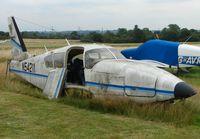 N54211 @ EGTR - Flying days over ????