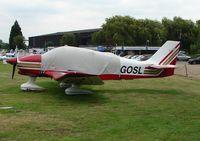 G-GOSL @ EGTR - Robin DR400