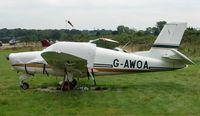 G-AWOA @ EGTR - Rallye Ms880B