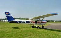 D-EYPE @ EDTF - Reims / Cessna 152 - by J. Thoma