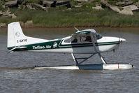 C-GYFO @ CAM9 - Tofino Air Cessna 180 - by Yakfreak - VAP
