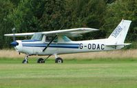 G-ODAC @ EGBD - Cessna F152 - by Terry Fletcher