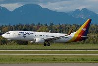 DQ-FJG @ CYVR - Air Pacific Boeing 737-800