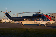 C-FOKP @ CYVR - CHC Sikorsky 61 - by Yakfreak - VAP
