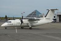 C-FCJE @ CYVR - Hawkair Dash 8-100