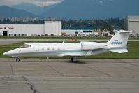 N809R @ CYVR - Learjet 60