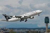 C-FDRO @ CYVR - Air Canada Airbus 340-300 in Star Alliance colors