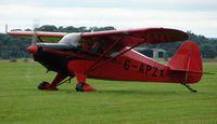 G-APZX @ EGBM - Piper Pa-22-150 - by Terry Fletcher