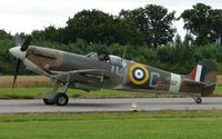 G-MKVB @ EGBM - Spitfire from Duxford for Tatenhill 2007 Fly-in